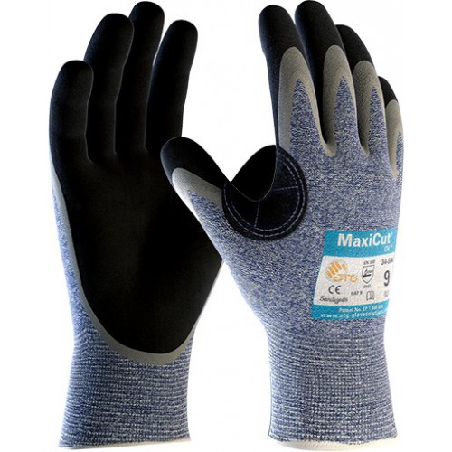 Rękawice ATG MaxiCut Oil 34-504