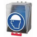 SecuBox Maxi - pojemnik ochronny, przezroczysty